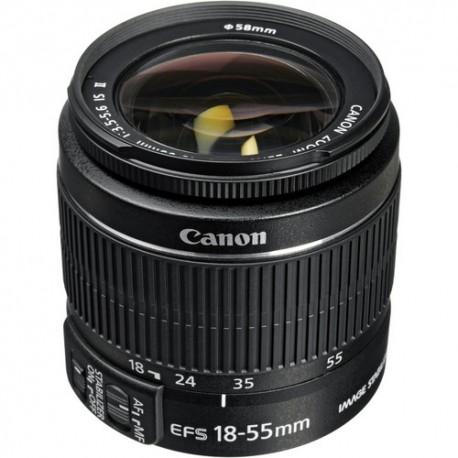 EF S 18 55mm f.3,5 5,6 II IS