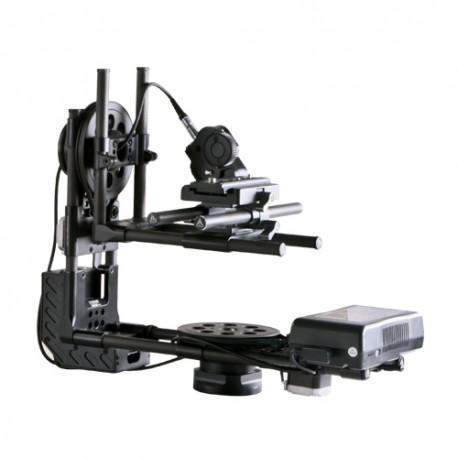 Tête HF 2 axes 8kg + focus + télécommande