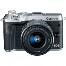 EOS M6+15-45 IS STM Argent