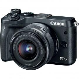 EOS M6 Noir+ 15-45mm + 55-200mm