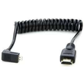 HDMI A Standard - HDMI D Micro Twisted 30-45 cm