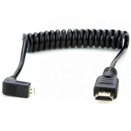 HDMI A Standard - HDMI D Micro Torsadé 30-45 cm