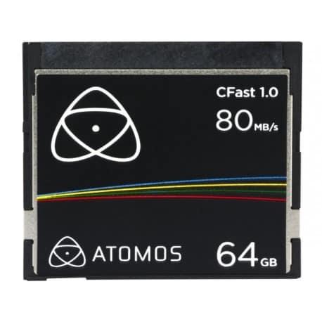 CFast Extreme Pro - 64Go - 80Mb/s - 1.0