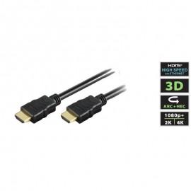 HDMI M/M 02m black