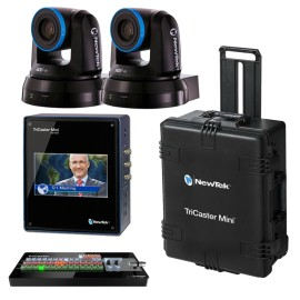 TriCaster Mini SDI Advanced Bundle + 2x PTZ1 Cameras