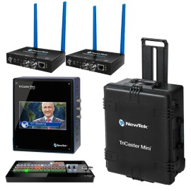 TriCaster Mini SDI Advanced Bundle + 2x Connect SPARK SDI