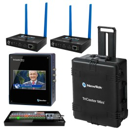 TriCaster Mini SDI Advanced Bundle + 2x Connect SPARK HDMI