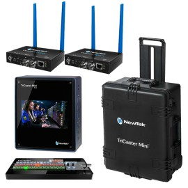 TriCaster Mini HD4i Advanced Bundle + 2x Connect SPARK SDI