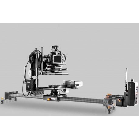Tête HF 2 axes 8kg + focus +  télécommande + moteur pour slider