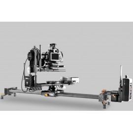 Tête HF 2 axes 15kg + focus +  télécommande +moteur pour slider
