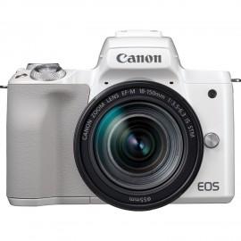 EOS M50 blanc + EF-M18-150
