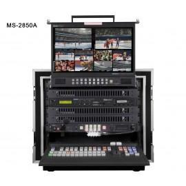 Studio Vidéo Mobile HD-SD 12 canaux MS-2850A