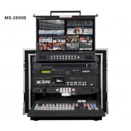 Studio Vidéo Mobile HD-SD 12 canaux MS-2850B