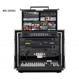 HD/SD 8/12-Channel Mobile Video Studio MS-2850C