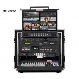 Studio Vidéo Mobile HD-SD 12 canaux MS-2850D