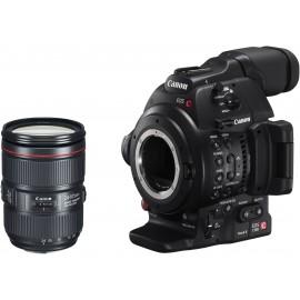 EOS C100 Mark II + 24-105mm f/4 L II
