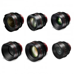 Set of 6 Focal Optics 14/24/35/50/85/135 mm - Imperial