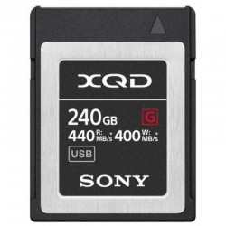 XQD G SERIES MEMORY CARD 240GB