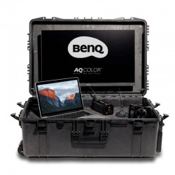 Suitcase for BenQ screens