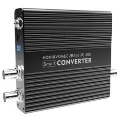 CV190 Broadcast Grade HDMI/VGA/AV to SDI Video Converter
