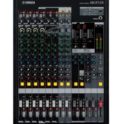 MPG 12X mixing console