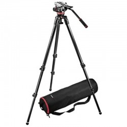 MVK502C Fluid video head & 535 CF single leg tripod