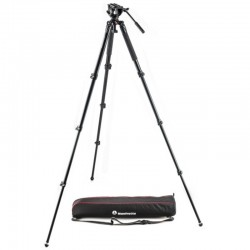MVK500AQ Fluid video head & alu single leg tripod