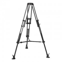 546B Alu Twin Leg with middle spreader video tripod