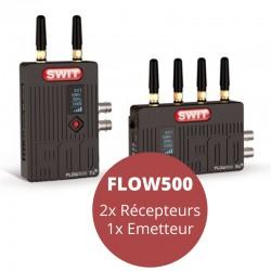 FLOW500 2 transmitter 1 receiver