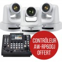 3 PTZ AW-UE100 Controller AW-RP60GJ offered