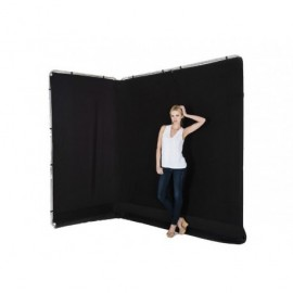 Panoramic Background 13' Black
