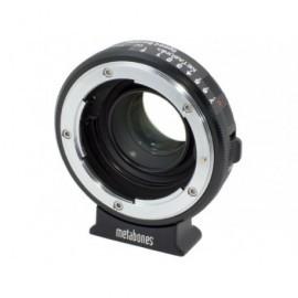 Nikon G vers BMPCC  Micro 4/3 Speed Booster