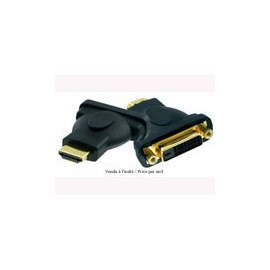 Adaptateur HDMI/DVI M/F