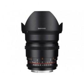 16mm T2.2 VDSLR II (Canon)
