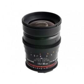 35mm T1.5 VDSLR II Sony