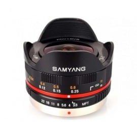 7.5mm f/3.5 UMS Fish eye MTF Micro 4/3