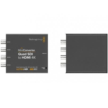 Mini Converter Quad SDI to HDMI 4K 2