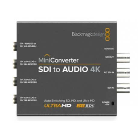 Mini Converter SDI vers Audio 4K