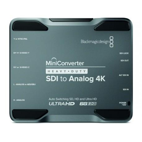 Mini Converter Heavy Duty SDI to Analog 4K