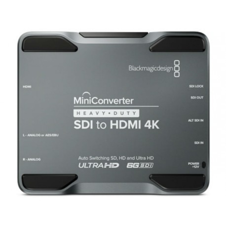 Mini Converter Heavy Duty SDI to HDMI 4K