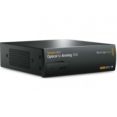 Teranex Mini - Optical vers Analog 12G