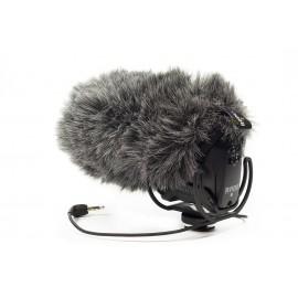 Brise vent en fourrure pour microphone VidéoMic Pro Rycote