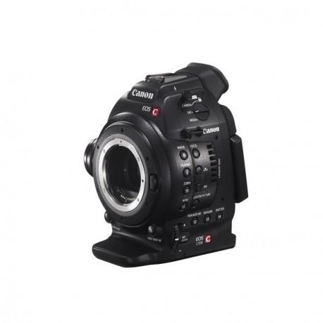 EOS C100DAF + EF 18-135mm
