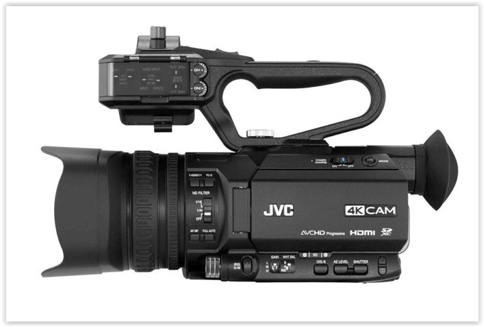 JVC GY-LS300CHE - 1 optique Olympus offerte