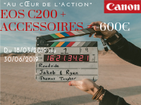 "CANON PROMOTION: ""AT THE HEART OF ACTION"""