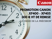 "CANON PROMOTION: ""THE CHOICE OF PRECISION"""