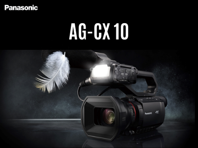 New Panasonic AG-CX10
