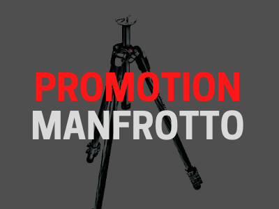 Promotion Manfrotto