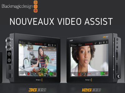 Blackmagic nouveaux Video Assist 3G